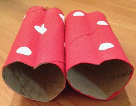 Valentines Day Heart Binoculars