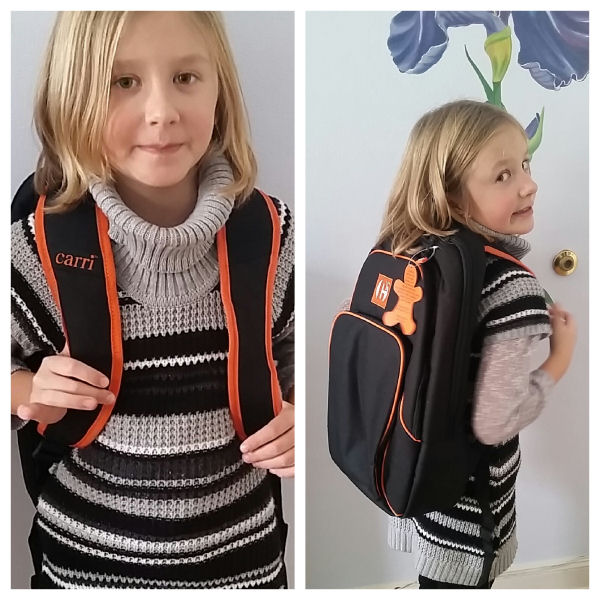 carri backpacks are good size for kids