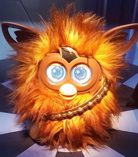 Furby plus Cewbacca equals Furbacca