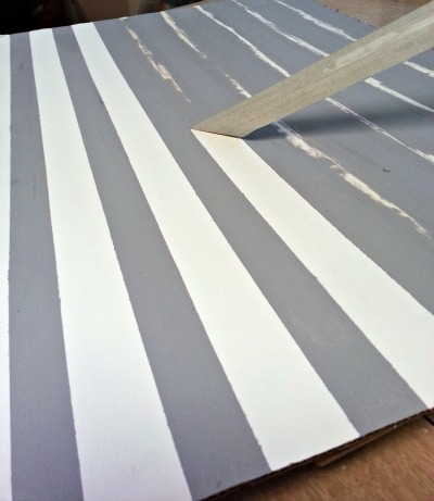 how to make love sign stripes tape