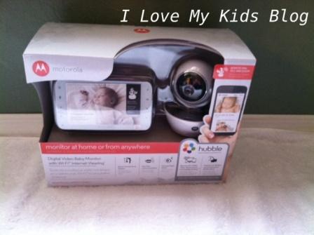 Motorolla video baby monitor MBP854 in package
