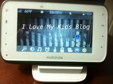 Motorolla video baby monitor MBP854  monitor on time