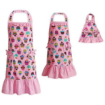 dollie and me cupcake aprons