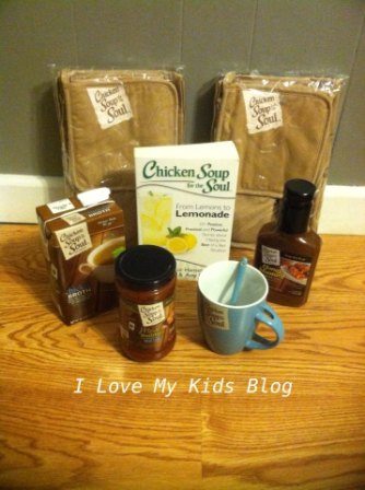 Chicken Soup for the soul and zaycon prize pack