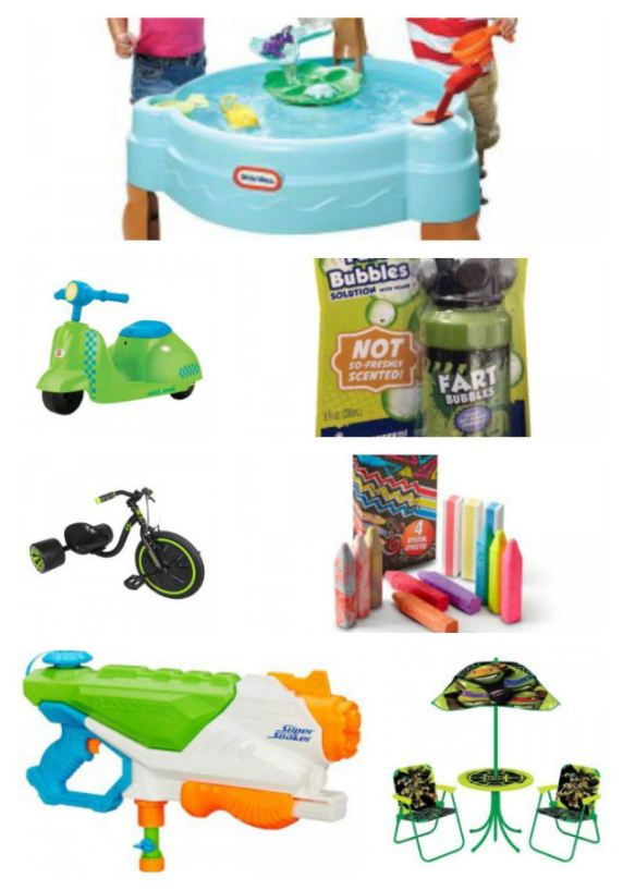 Outdoor Toys Summer 2015