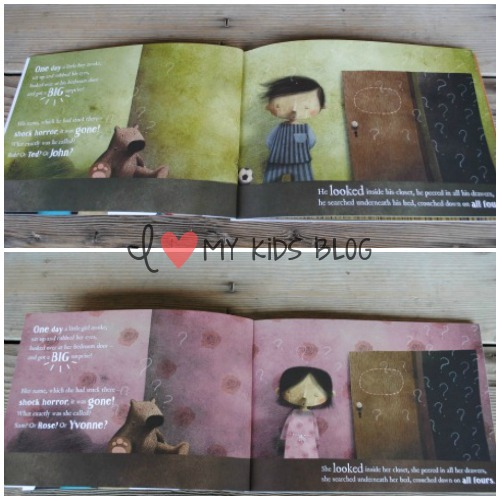 Lost my name pages