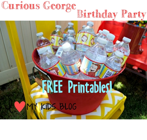 Curious george PArtay