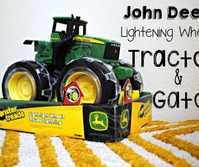 NEW John Deere Monster Treads Lightning Wheels Tractor and Gator Review