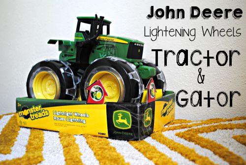 John Deere tractor.ride