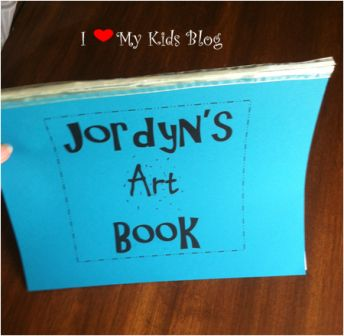 last minute kid birthday gift idea art book gift idea