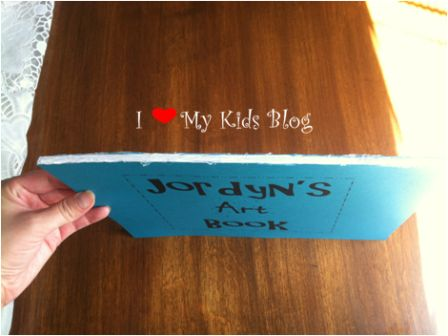 last minute kid birthday gift idea make a book