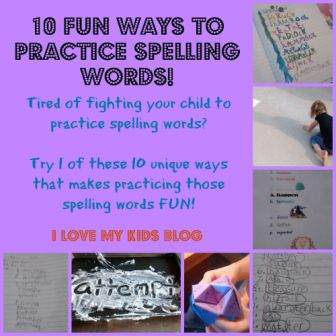 10 fun ways to practice spelling words button blog