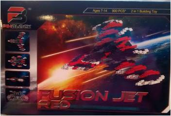 Fusion jet red box