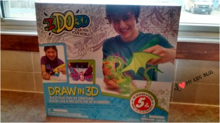 I Do 3D art pen in box