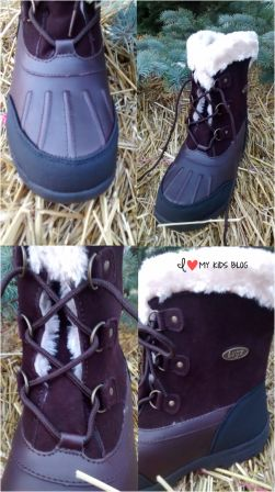 Lugz warm womens boots from 4 different angles