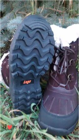 Lugz warm womens boots tread