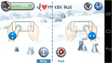 MiPosaur drive mode on app