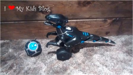 MiPosaur with track ball