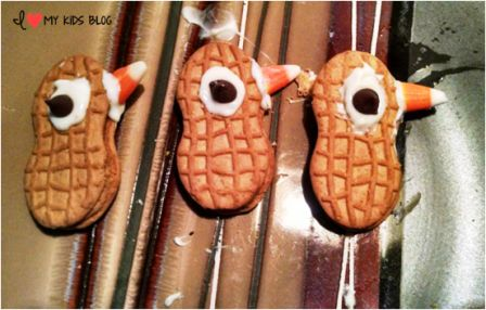 hanksgiving treat idea turkey apples turkey heads