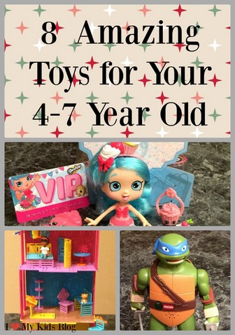 8 Toys Your 4-7 Year Old Will Love