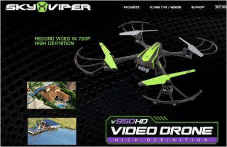 Sky Viper Drone stock photo