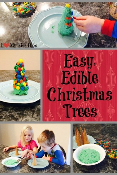 Edible Christmas Trees-Only 3 Ingredients