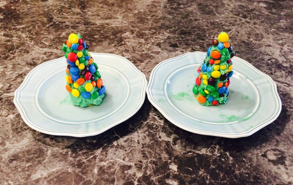 finished edible tree