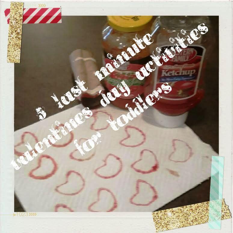LAST MINUTE Valentines Day Activities