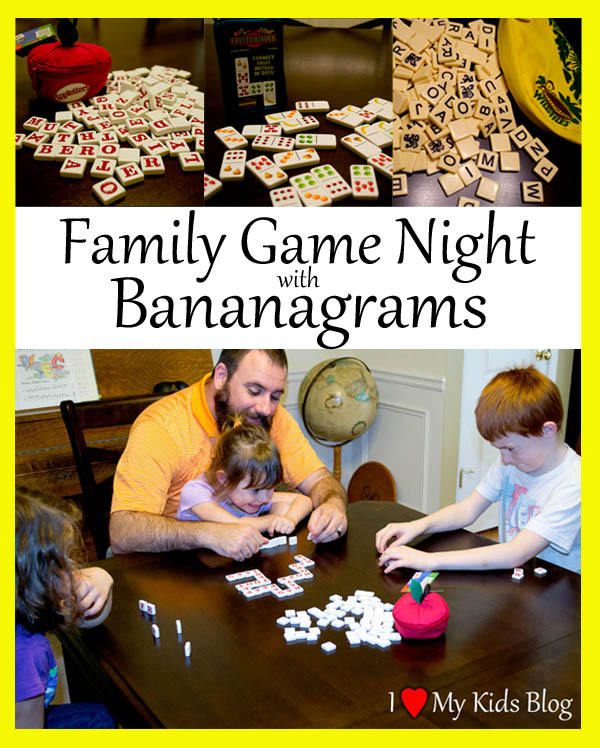 Bananagrams Family Game Night Review