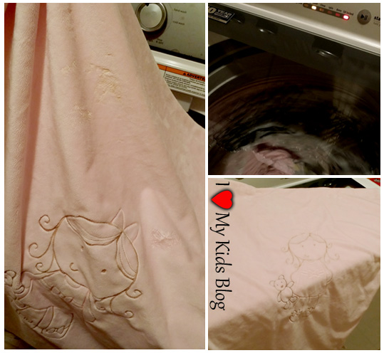 Washing the Whimsical Collection Blanket