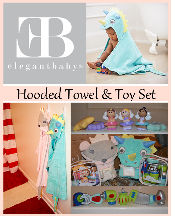 elegant baby hooded towel and toy review