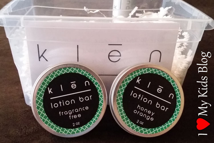 Klen Lotion Bars