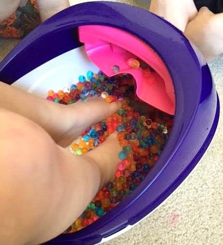 Orbeez Foot Spa Day