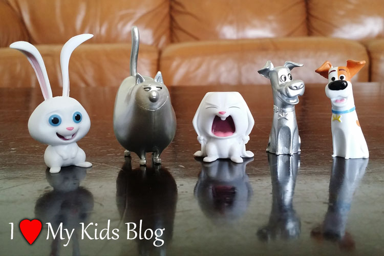 The Secret Life of Pets Series 1 figurines