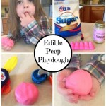 Edible Peep Playdough – Fun to Play with and Fun to Eat