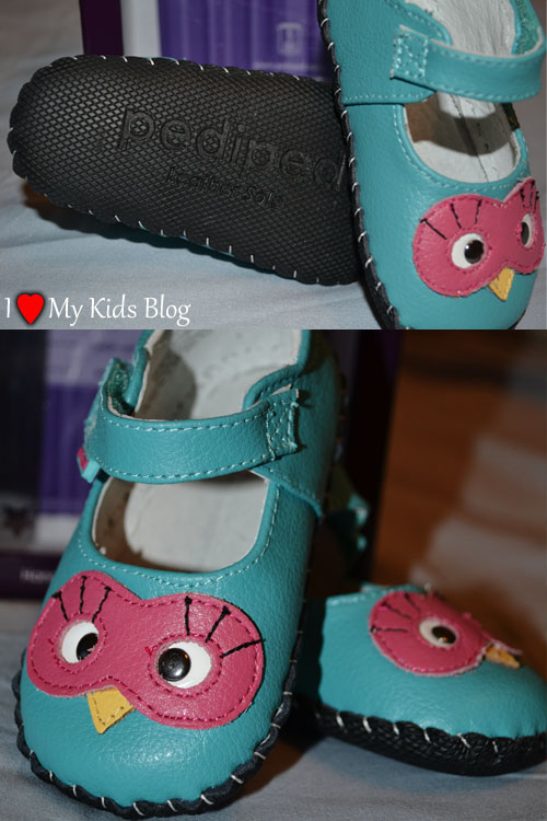 Pediped Infant Shoes with Leather Soles