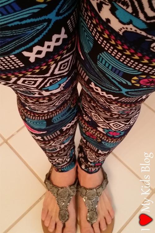 Enjoy Leggings Unique Pattern