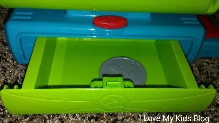 Leapfrog register drawer