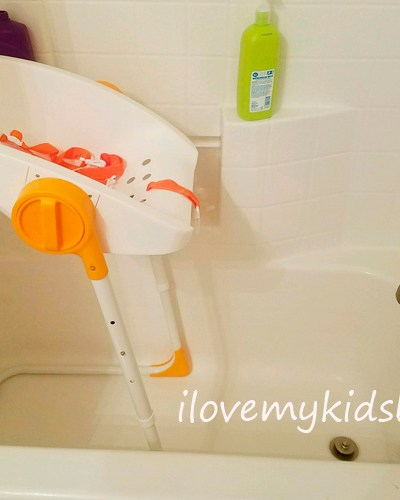 Easily Bathe Infants Using the CharliChair by Primo Baby