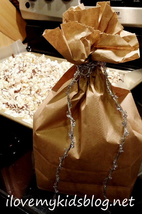 chocolate-drizzled-popcorn-makes-a-great-gift-to-give-when-put-in-a-brown-paper-bag-ties-with-a-ribbon