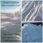 Overlooked thoughts regarding winter preparedness