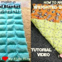 How to make a weighted blanket: Tutorial + Video