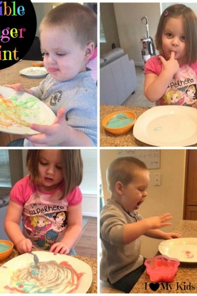 How to Make Edible Finger Paint [Activity Sticks Activity]