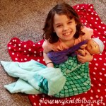 Live in Your Own Mermaid World, Out of Water, With Fin Fun Cuddle Tails