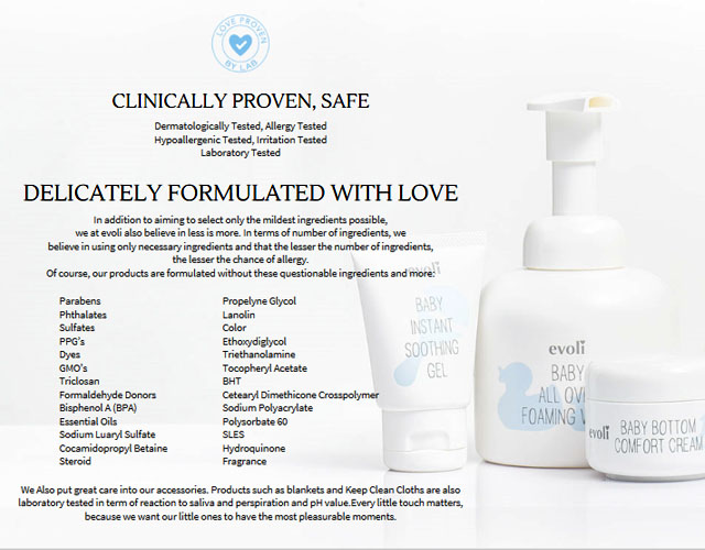 Evoli is clinically proven and safe