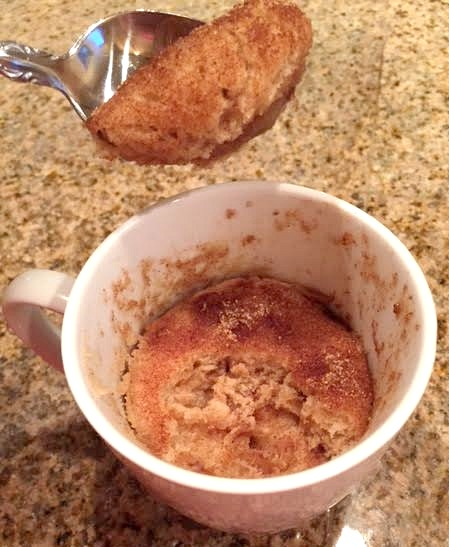 Easy Mug Recipes: Delicious And Easy Snickerdoodle Mug Cake Recipe