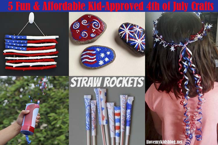 5 Fun & Affordable Kid-Approved 4th of July Crafts