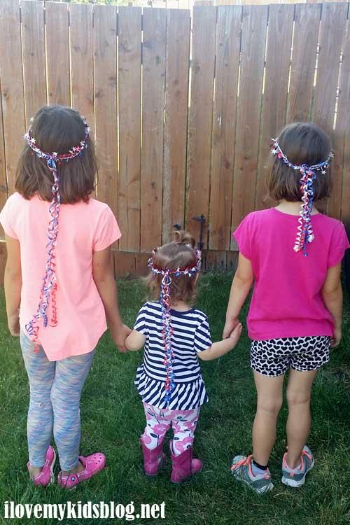 Ribbon Tiara accessory