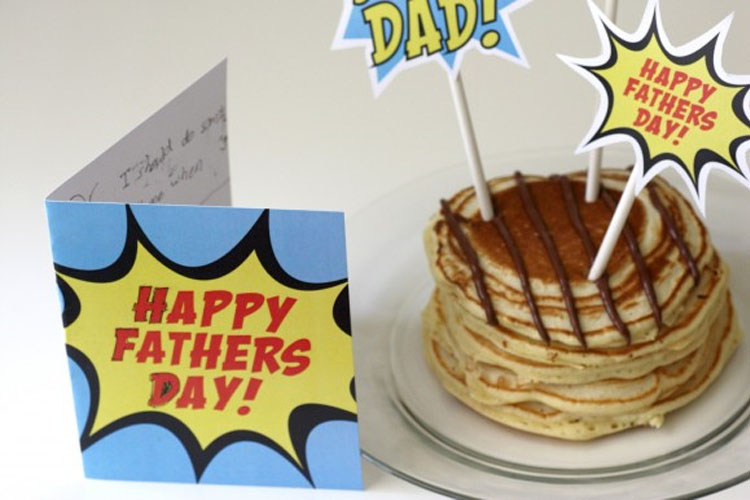 Superhero Fathers Day Decorations