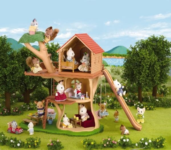 Calico Critters Back Treehouse